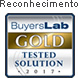 Selo BuyersLab Gold Tested solution 2017
